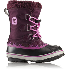 Sorel Yoot Pack Nylon Stivali Bambino, purple dahlia/foxglove